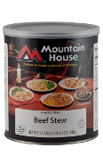 Mountain House Beef Stew #10 Can  - Case of Six