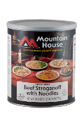 Mt. House Beef Stroganoff w/Noodles #10 Can  - Case of Six