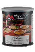 Mt. House Diced Chicken #10 Can  - Case of Six