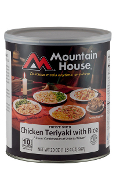 Mt. House Chicken Teriyaki #10 Can  - Case of Six