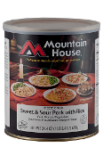 Mt. House Sweet and Sour Pork #10 Can - Case of Six