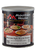Mt. House Mex Style Rice and Chicken #10 Can - Case of Six