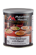 Mt. House Scrambled Eggs with Bacon #10 Can - Case of Six