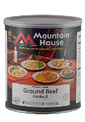Mt. House Ground Beef #10 Can - Case of Six